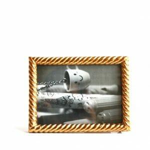 Vintage-Design 19x14,5 cm Gold Bilderrahmen