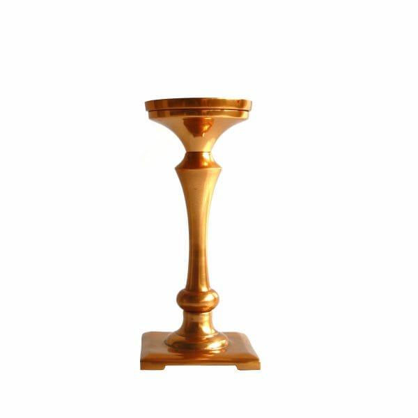 Gold Kerzenhalter (19 cm)