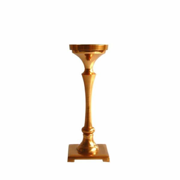 Gold Kerzenhalter (27 cm)