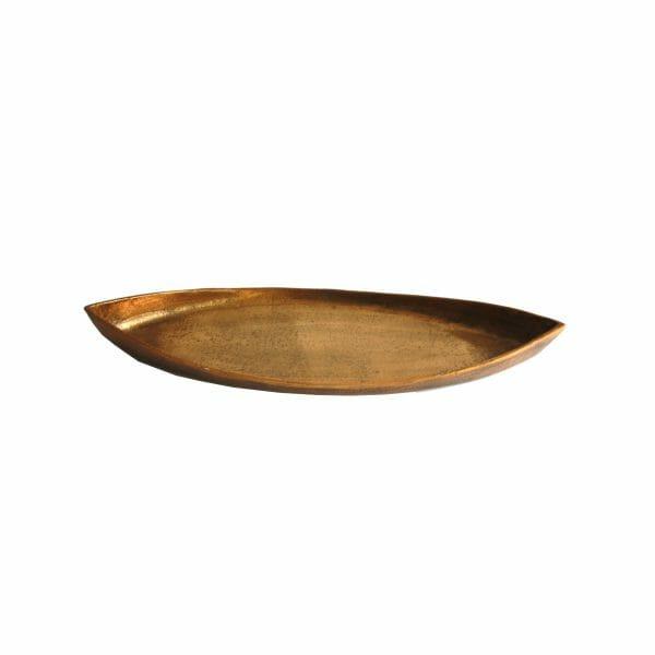Gold Schale für Dekoration (60 cm)