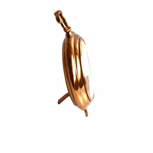 Gold-Weiß Tischuhr für Dekoration (24 cm)