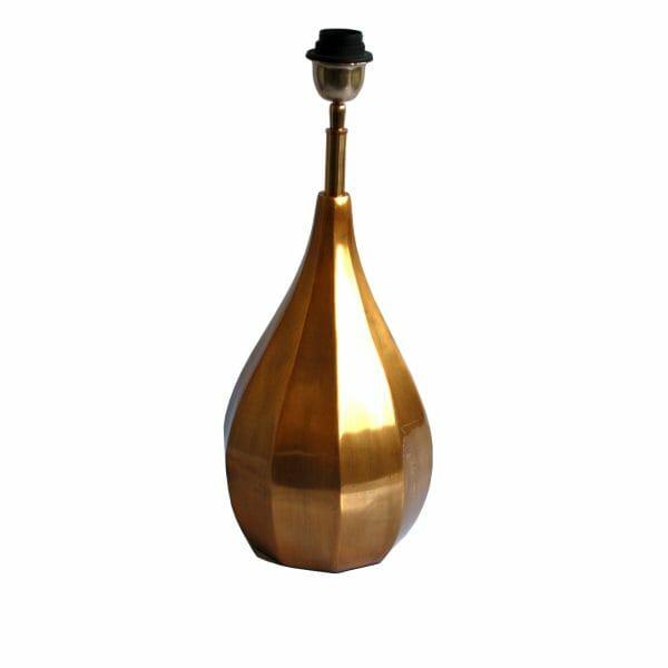Gold Tischlampe (Größe: 51 cm)