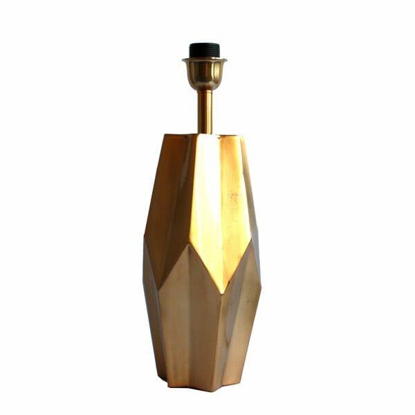 Gold Tischlampe (44 cm)