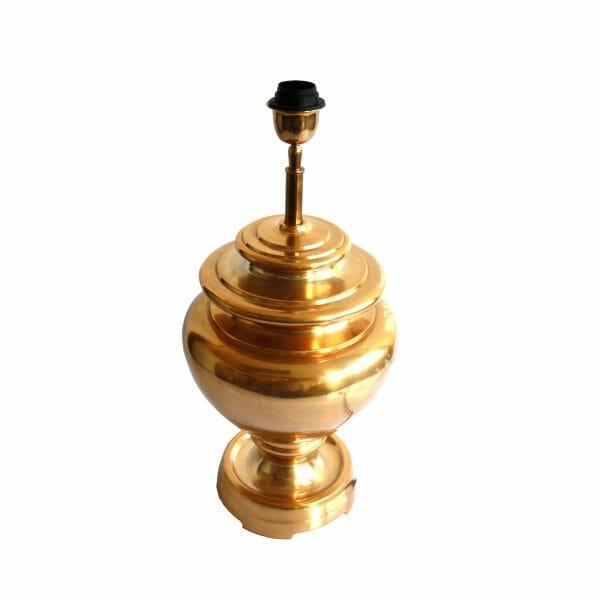 Gold Tischlampe (Größe: 54 cm)