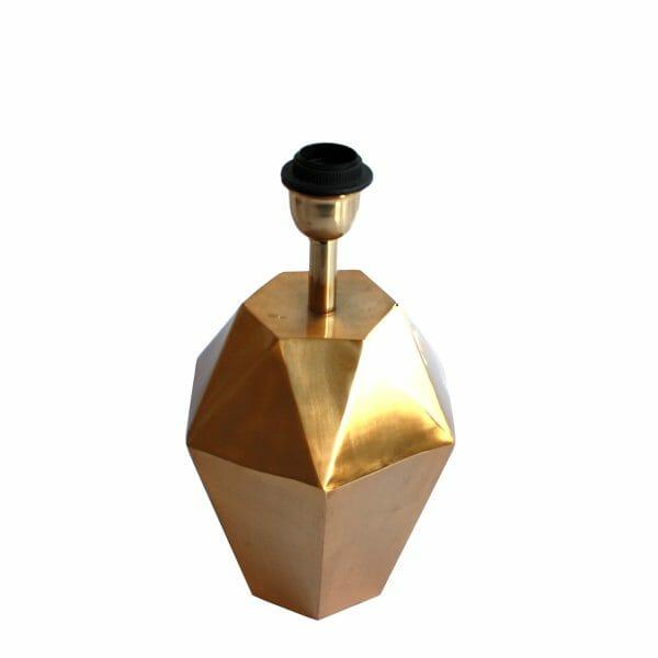 Gold Tischlampe (35 cm)
