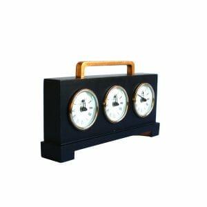 Tischuhr World Time -Weltzeit (20 cm)