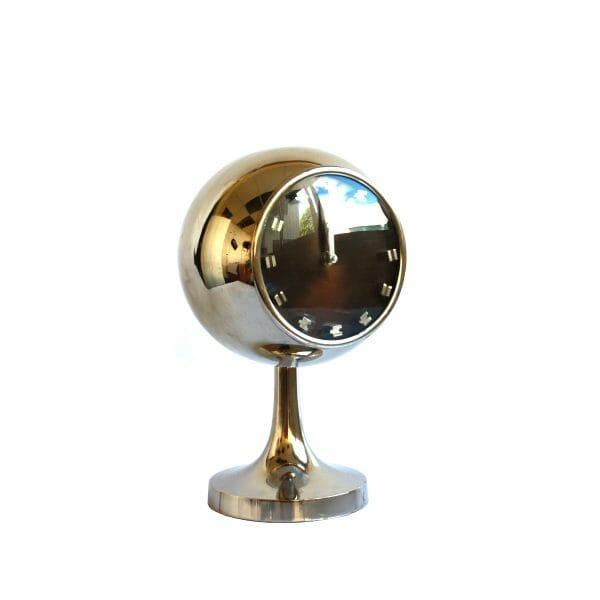 Silber Uhr für Dekoration (34 cm)