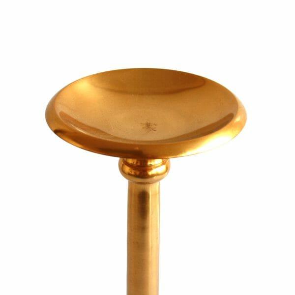 Kerzenhalter Gold (Größe: 43 cm)