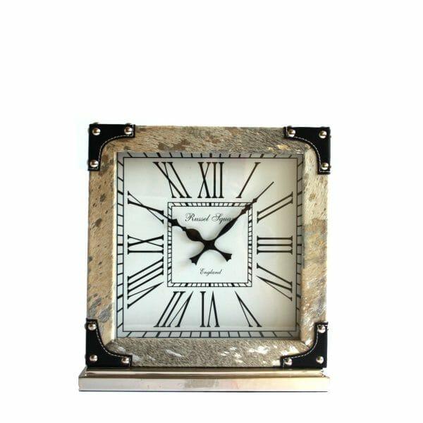 Silber Tischuhr für Dekoration (35 cm)