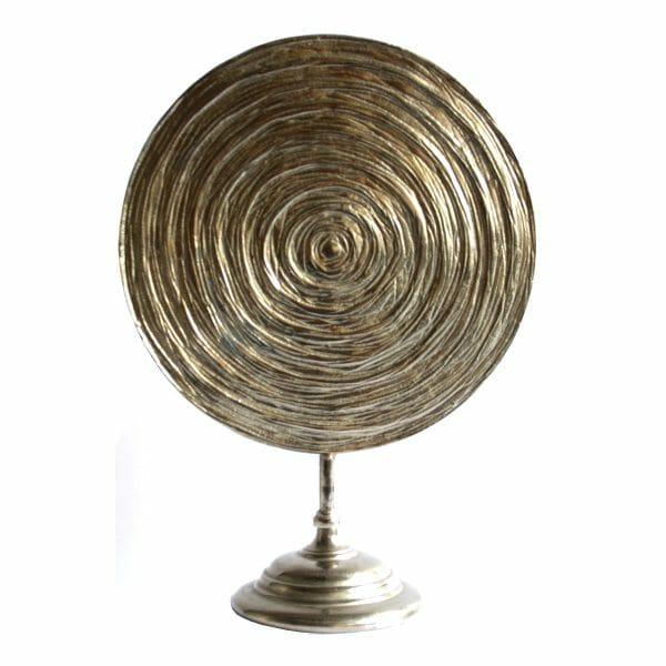 Silber Statue für Dekoration (Größe: 57 cm)