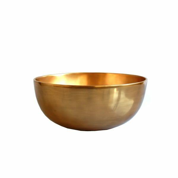 Schale Gold für Dekoration (30 cm)