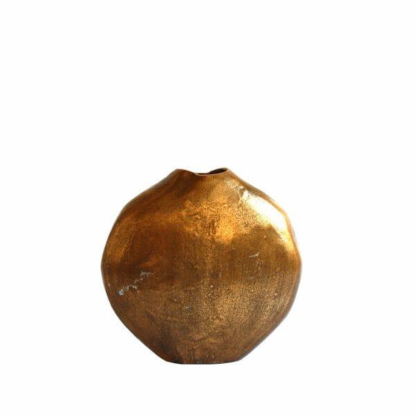 Deko-Vase Gold (Größe: 23 cm)