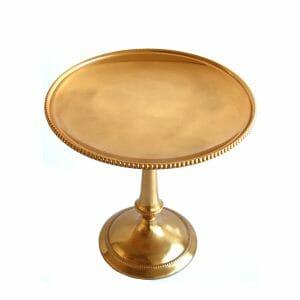 Standschale Gold für Dekoration (26 cm)