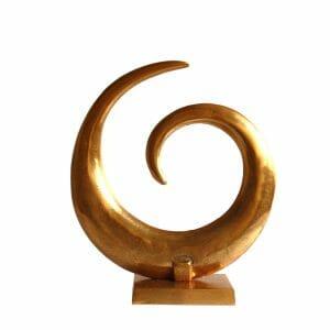 Whirlpool Statue Gold (Größe: 42 cm)