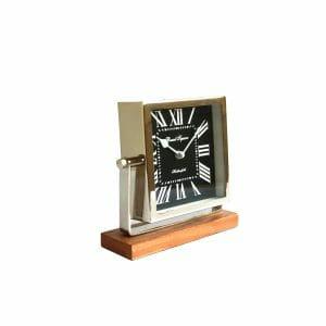 Russel Square Tischuhr Silber für Dekoration (20 cm)