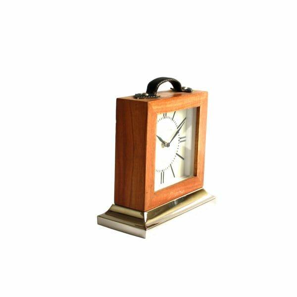 Franklin & Murphy Tischuhr Holz für Dekoration (20 cm)
