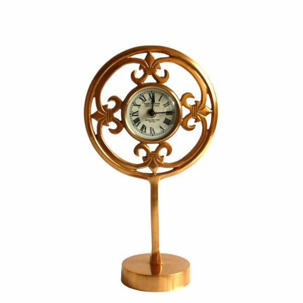 Time Master Jacob Clock Tischuhr Gold (35 cm)