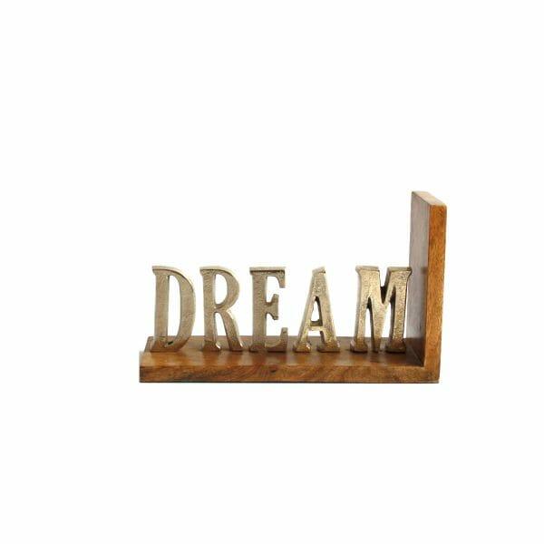 """Silber """"DREAM"""" Buchstaben (Größe: 16,5 cm)"""