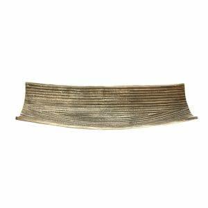 Schale Silber für Dekoration (Größe: 47 cm)