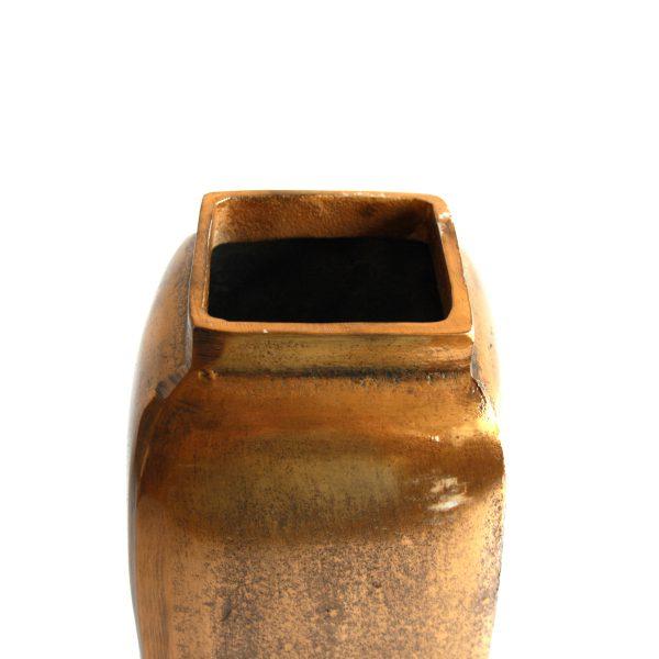 Deko-Vase Gold (Größe: 41 cm)