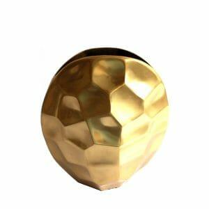 Deko-Vase Gold (Größe: 30 cm)