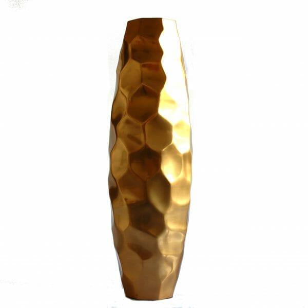Vintage-Design 50,5 cm hoch Gold Vase