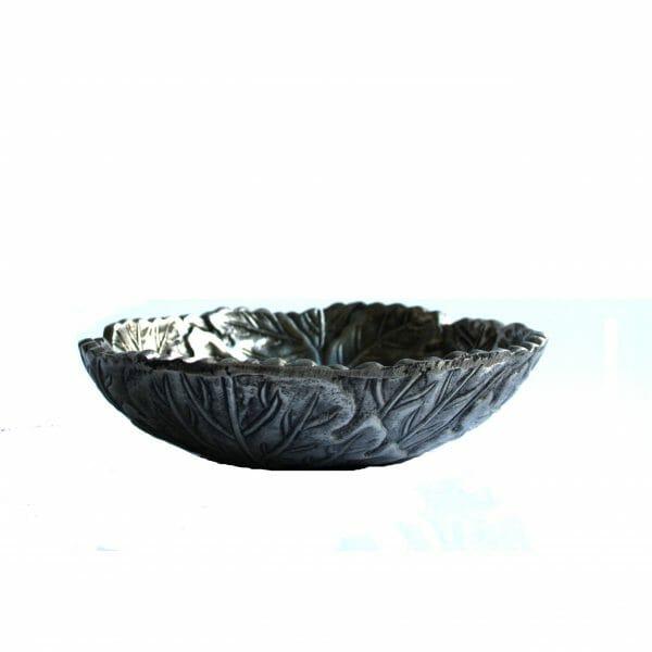 Vintage-Design Silber Schale für Dekoration (20 cm)