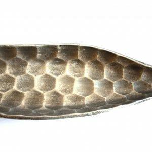 Vintage-Design Silber Schale für Dekoration (62 cm)
