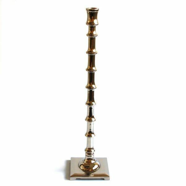 Vintage-Design 51 cm hoch Silber Kerzenhalter