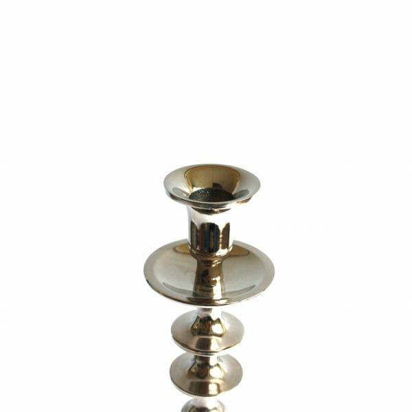 Vintage-Design 48 cm hoch Silber Kerzenhalter