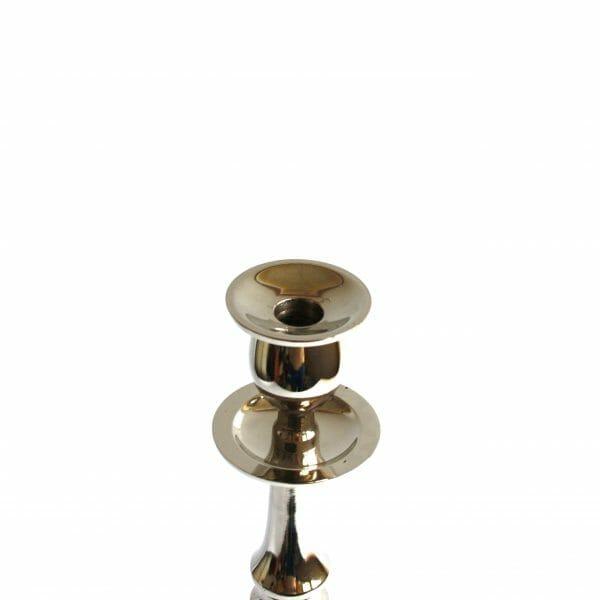 Vintage-Design 52 cm hoch Silber Kerzenhalter