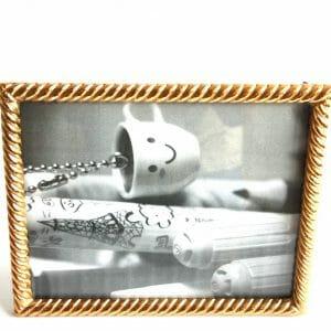 Vintage-Design 27x22 cm Gold Bilderrahmen