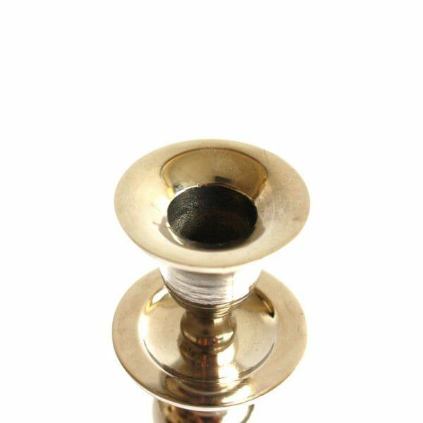 Vintage-Design 22 cm hoch Silber Kerzenhalter